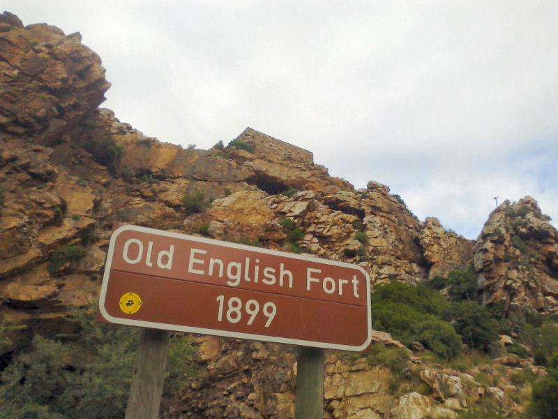 Old English Fort - Attractions in Montagu